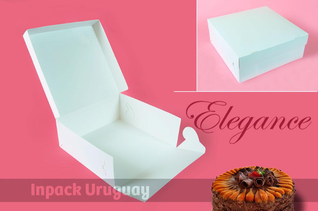 Cajas para tortas de 30 cms. - Inpack Uruguay
